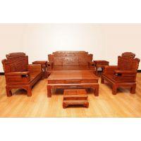 红木家具厂东阳红木家具价格刺猬紫檀财源滚滚大床