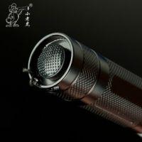 小老虎S804 led强光迷你充电手电筒  包邮远射q5变焦小手电正品