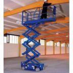 【厂家批发】济南迅升电动升降机=升高10米自走式全电动液压平台
