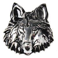 汽车用品超市批发代理加盟一件代发金属车身贴 改装标 狼头改装标
