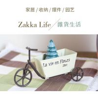 迷你三轮车 zakka 赛铃创意 桌面装饰 儿童玩具 铁艺小摆件 礼品