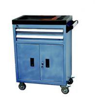 机修工具箱 移动式维修工具车带锁零件柜 2层2抽屉推车 GH-201