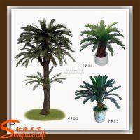 厂家直销仿真铁树 办公室内盆栽 仿真玻璃钢热带植物