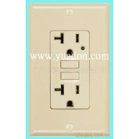 厂家供应漏电保护插座 (美国安规UL/CUL认证标准)