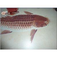 《深圳数码》彩色瓷砖小型彩印机 广东瓷砖壁画UV彩印机生产设备