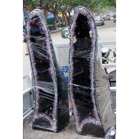 天然巴西紫水晶洞 招财消磁 聚宝盆摆件 紫晶洞 东海水晶礼品