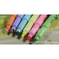 爱好 6162 自然之语 清新创意荧光标记笔 迷你型荧光笔套装 6支装