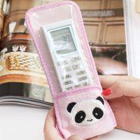 卡通布艺熊猫电视遥控器防尘套 保护套