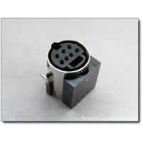 供应原装 SUYIN MINI DIN S端子母座7P沉板连接器 030107FR007G333ZR