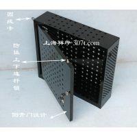 上海祥烨定做品牌电脑小主机安全机箱 数据资料保护机箱 禁用USB口保密机柜