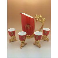 2014年国庆节送什么礼品好呢?十二生肖红瓷酒杯热销中