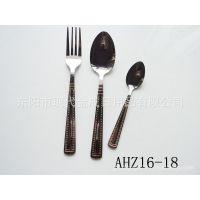 专业生产西餐用具 不锈钢刀叉  刀叉套件 刀叉勺套件