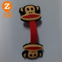 数码配件PVC绕线器  大嘴猴绕线器 耳机PVC绕线器大货批发生产