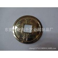 厂家直销铜钱工艺品挂件 中国结2.5cm仿古铜钱车挂件十帝梅花钱