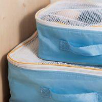 淘宝代理一件代发旅行家居用品便携可视型衣物收纳整理袋三件套