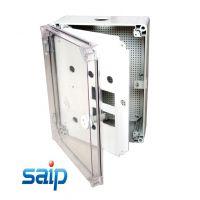 厂家直销SP-PTM302016配电箱 透明塑料配电箱 二层门配电箱