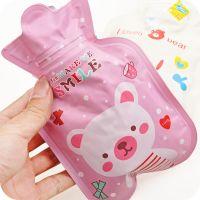 小熊迷你热水袋 儿童小号暖水袋 印花PVC布冲水热水袋热销 39g