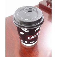 厂家现货供应双层防烫咖啡纸杯 中空杯免费设计