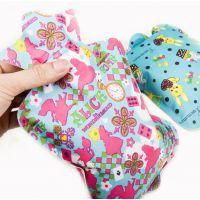 冬季花布注水热水袋儿童中小号暖水袋印花PVC布冲水热水袋热销