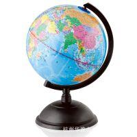 得力3033地球仪 高清 标准教学地球仪 20cm地球仪 中文地形