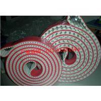 红胶同步带带、海绵带、笔套输送带、玻璃磨边机带