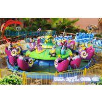小型蜗牛特工队游乐设备旋转类的游乐设施许昌创艺游乐