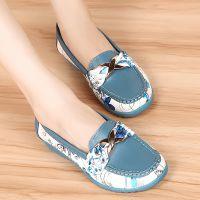2014秋季新款女式单鞋 时尚拼色蝴蝶结坡跟女式单鞋 韩国女鞋批发