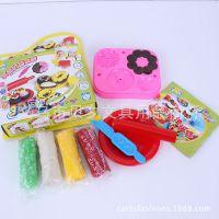 3D炫彩彩泥 带模具套装 安全无毒彩泥儿童DIY益智玩具