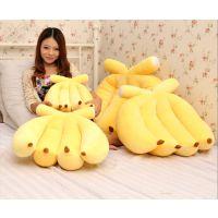 批发 香蕉靠垫/抱枕 仿真香蕉抱枕/车载靠垫/靠枕坐垫