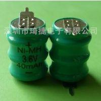 供应镍氢电池3.6v组合电池40MAH