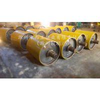 武汉聚氨酯包胶滚筒输送皮带机专用
