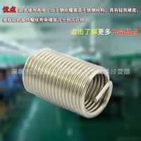 厂家直销螺纹护套 钢牙套 耐热 耐磨 高精度 是模具紧固件必备