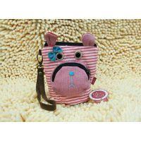 3Q shop 原创韩版卡通布艺包相机包收纳包杂物包零钱包手机包