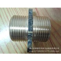 水暖配件五金定制厂家直销 优质出水接头 G1-2对丝产品