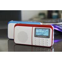 新品乐果909插卡音箱 便携迷你音响 收音机 户外晨练 批发订单