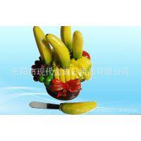 厂家直销树脂香蕉奶油刮刀 树脂餐具