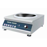 供应恒兴牌 HX-TA 电磁台式凹面小炒炉 商用电磁炉 小功率电磁炉