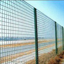 供应上善1-2米宽孔径5-10cm养鸡围栏网PVC涂塑波浪形护栏网