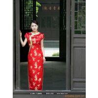 (复古、考究、靓丽)北京时尚旗袍定做加工翔龙马服装厂