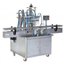CHY-4T四头全自动液体计生保健用品灌装机,孕妇用品叶酸苹果醋医药产品药品灌装机