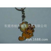 生产金属钥匙扣、加菲猫钥匙扣、卡通钥匙扣、卡哇伊钥匙扣批发
