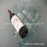新品上架 定做优惠高档长城干红葡萄酒展示架 亚克力红酒展示架