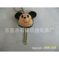 迪士尼搪胶公仔钥匙套,搪胶品牌公仔,东莞石排搪胶玩具生产加工