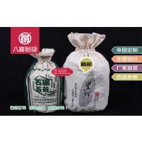 新乡石墨面粉包装袋定做帆布十斤面粉袋礼品杂粮袋加工厂
