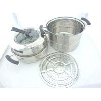 新款多功能蒸锅、欧式节能锅, 欧式蒸锅 汤锅 高效节能蒸锅