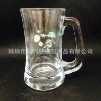 生产销售创意玻璃礼品杯 高品质青岛啤酒杯 大啤酒杯 支持混批