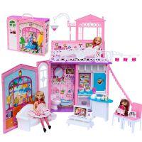 【网上城】玩具批发 乐吉儿 H36A 女孩玩具套装 芭比娃娃甜蜜家园