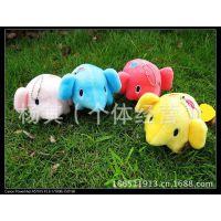 厂家直销彩色忧伤马戏团小象毛绒公仔 大象毛绒玩具挂件