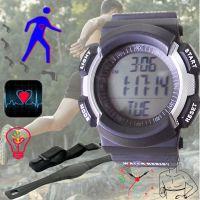 胸带心率表运动3d计步器实时计算跑步登山能量卡路里消耗运动计时
