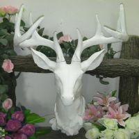 0利润促销 复古铜动物头壁饰品挂件玄关鹿头壁挂创意家居装饰墙挂